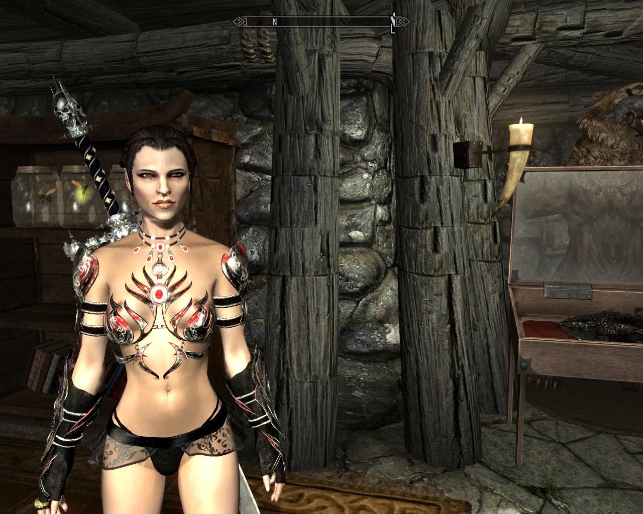 Секси броня