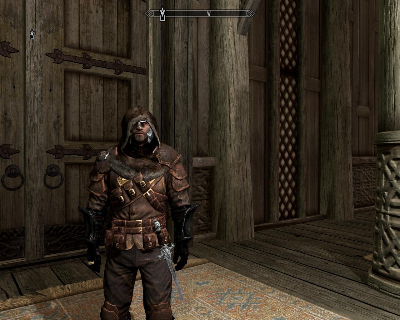 Меховая одежда (se) / furarmorsetse (frostfall aware) броня.