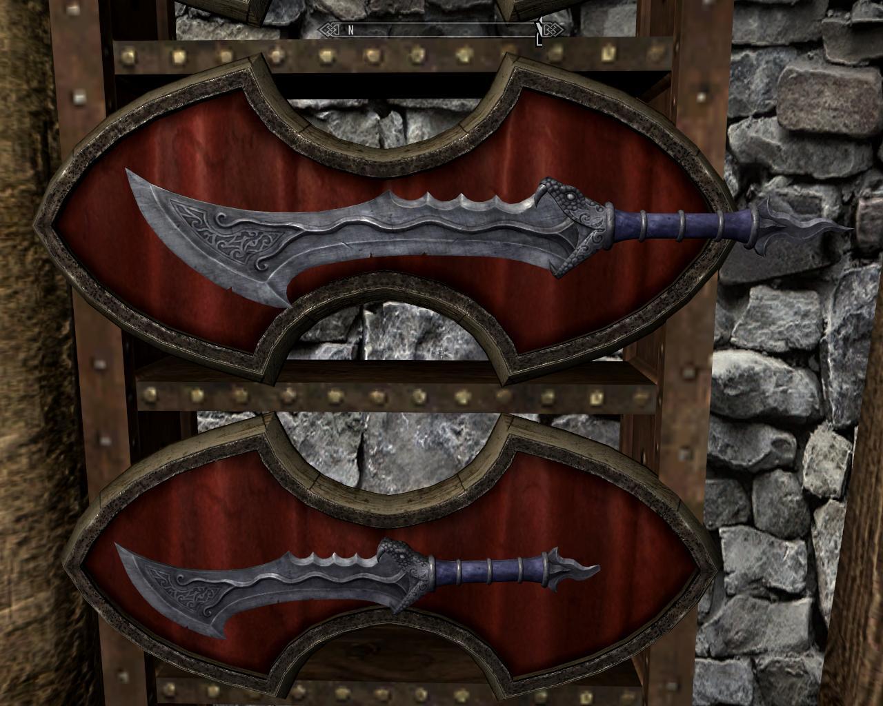 скачать моды на скайрим 5 на меч азенкур