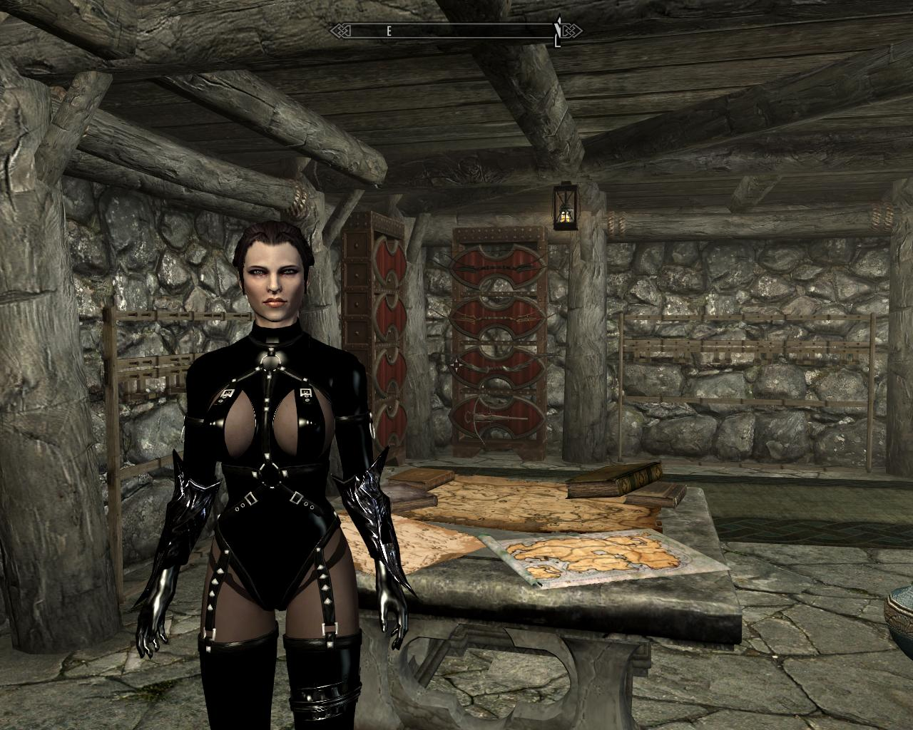 Skyrim сексуальный броня